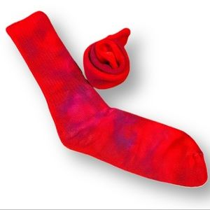 Custom tie dye women's bamboo socks 9-11